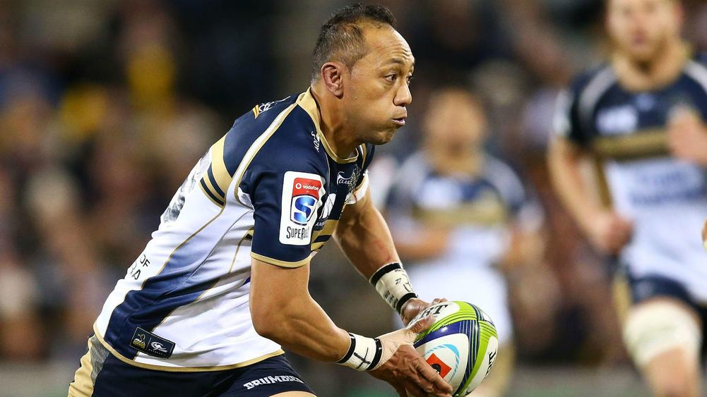 Brumbies back Christian Lealiifano confirms short-term Ulster deal