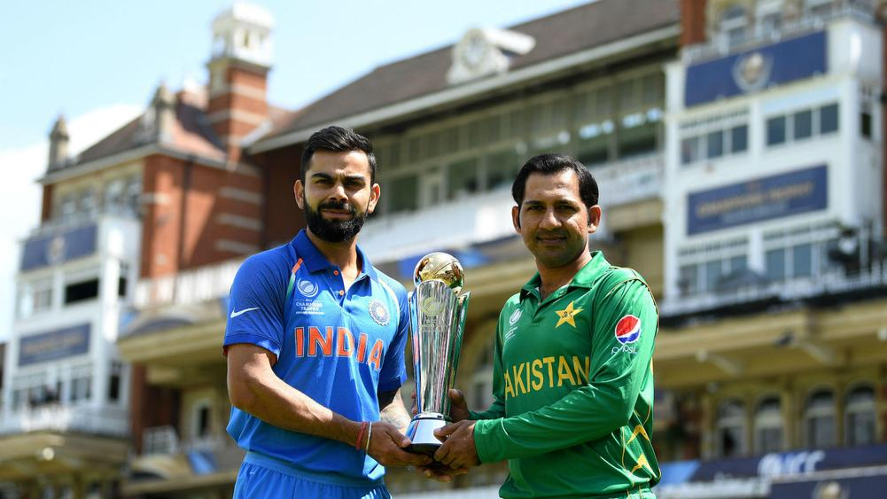 Arch rivals Pakistan, India battle in high octane Champions Trophy final