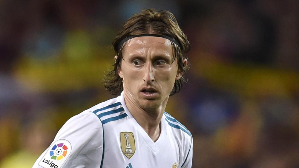 Modric in Real Madrid's UEFA Super Cup squad amid Inter links - photo#40