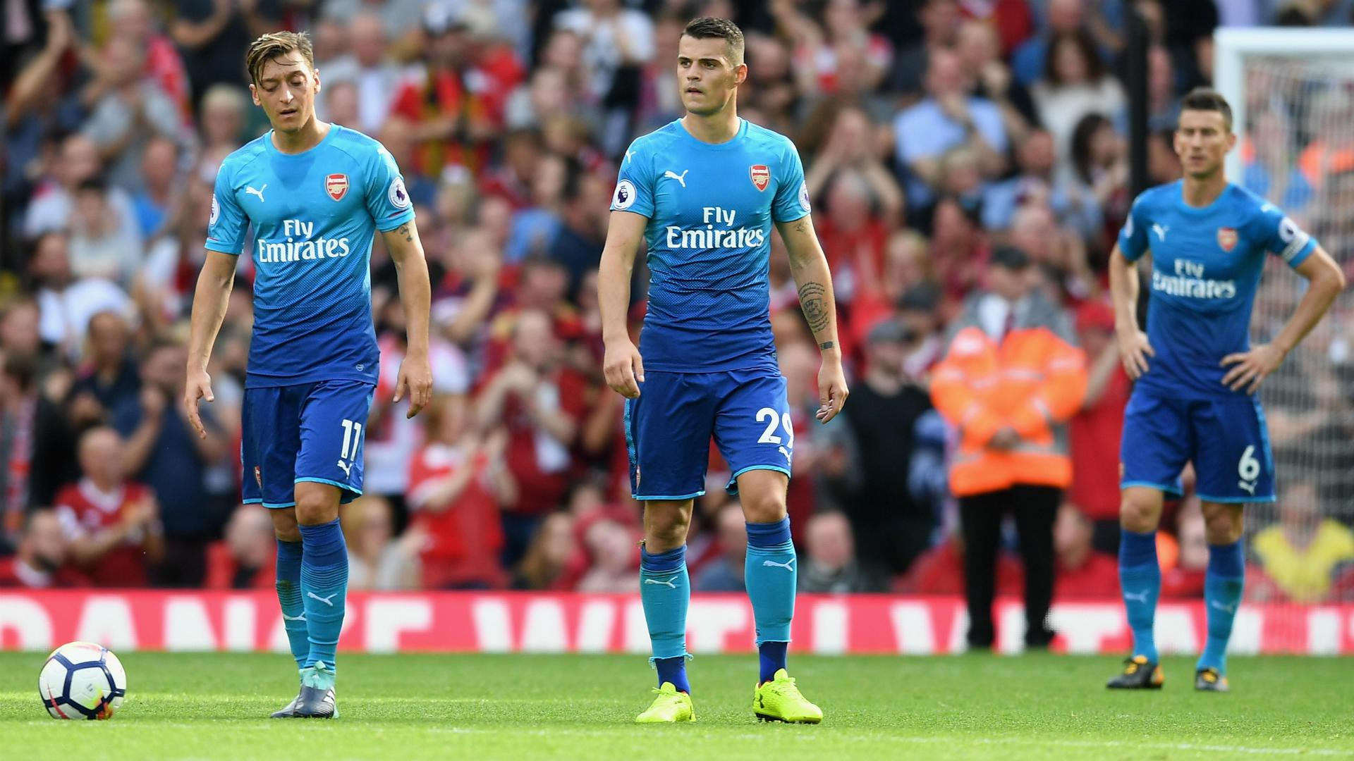 Arsenal loose at Liverpool