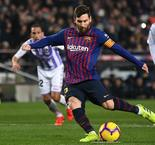 Hit and miss as Messi gets job done for Barca