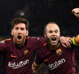 Iniesta and Messi back in Barcelona squad