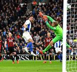 Brighton and Hove Albion 1 Huddersfield Town 0: Andone torments Terriers again