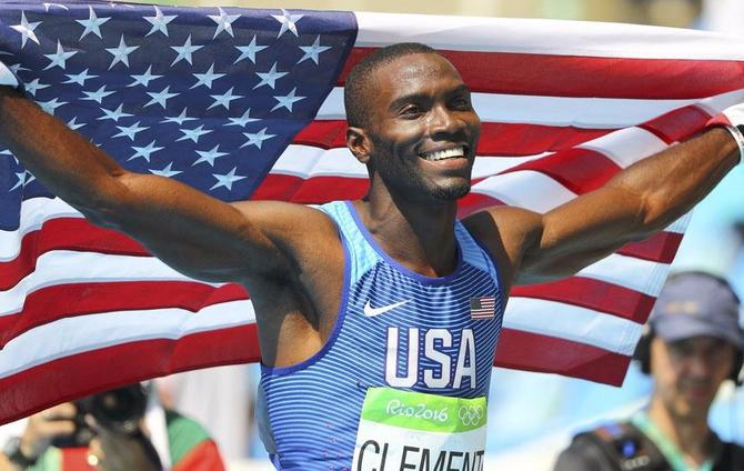 Clement powers to 400m hurdles title