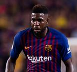 Umtiti Returns To Barcelona Training