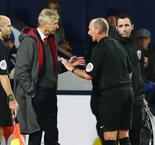 Wenger 'very aggressive' towards referee Dean, says FA report