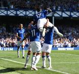 Everton 4-0 Manchester United Match Highlights
