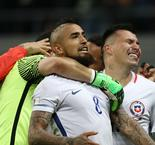Chile world's best if it beats Germany, says Vidal