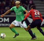 Ligue 1:Lille 1 - 1 Saint-Etienne