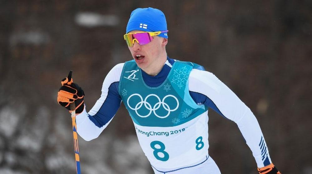 Russians win Olympic silver and bronze in 50km mass start cross-country skiing