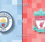 Manchester City v Liverpool in words and numbers