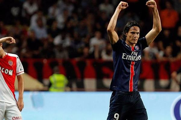 Monaco 0-3 Paris Saint-Germain: Cavani scores twice as Di Maria makes decisive debut