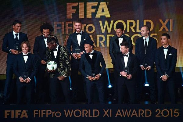 Real Madrid equal treble-winners Barca in FIFPro World XI