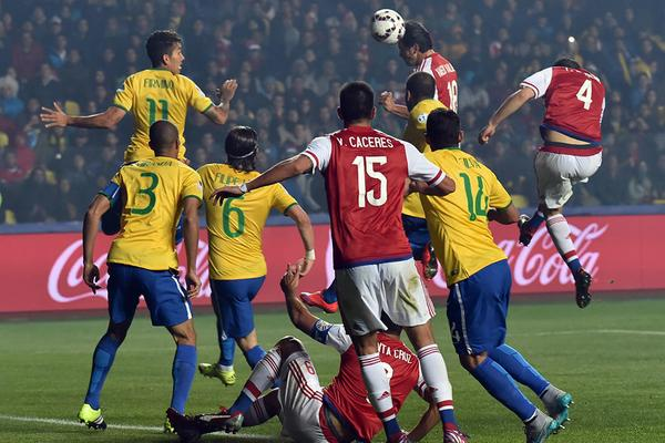 Copa America : Paraguay defeat Brazil 4-3 on penalties