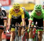 Uran sprints to dramatic win after Porte and Thomas crash out