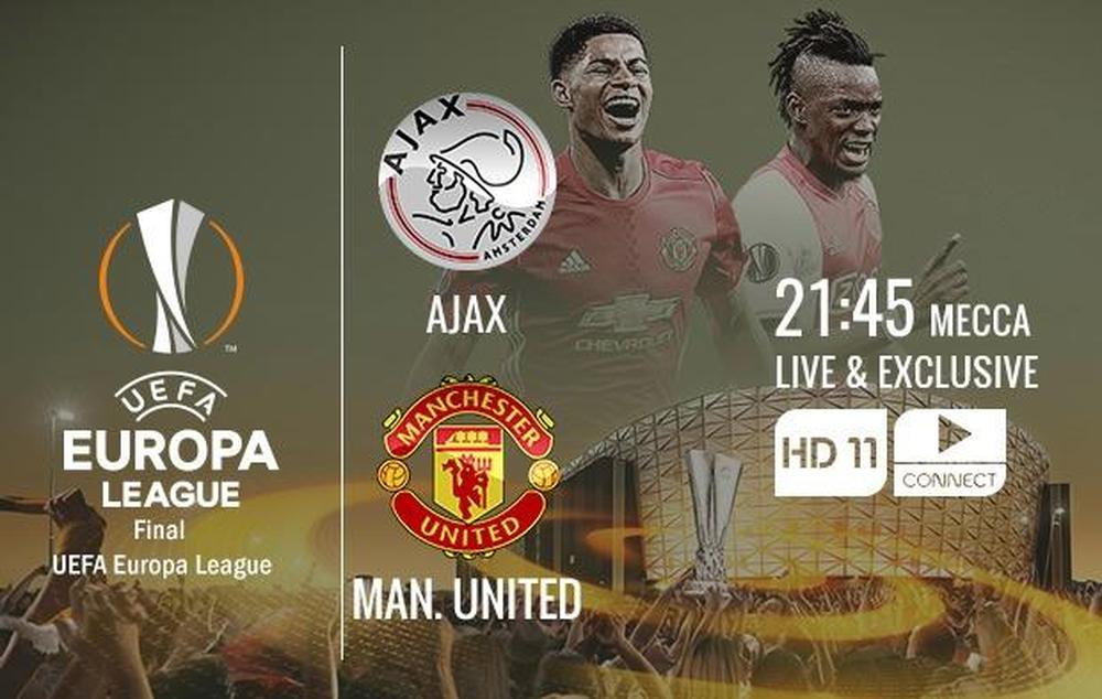 europa league final how to watch manchester united ajax on tv and live streaming. Black Bedroom Furniture Sets. Home Design Ideas