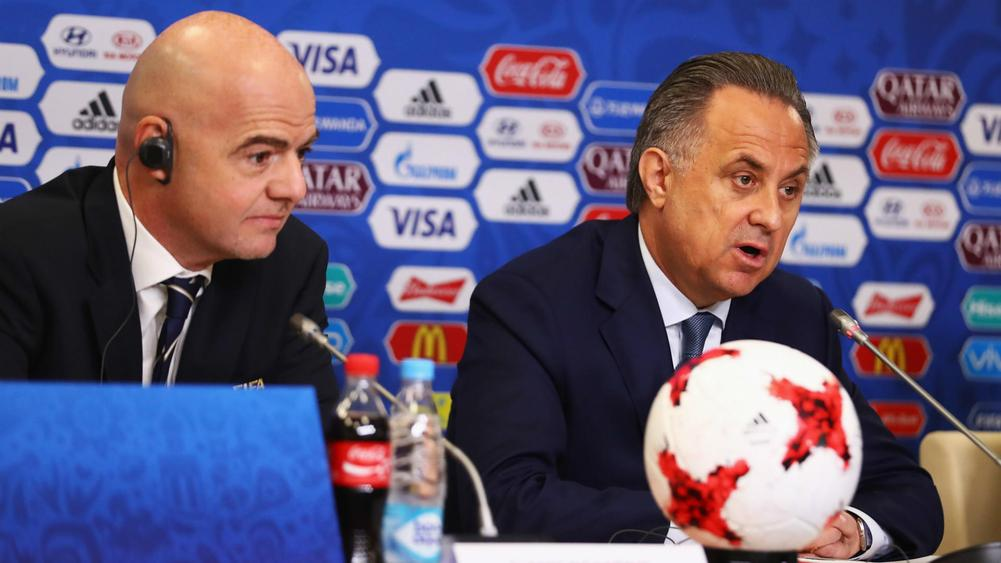 Former FIFA official: Infantino opposed blocking Mutko