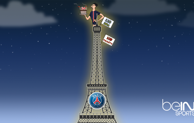 Ibra Cartoon