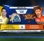 IPL VIVO Cricket: Chennai Super kings vs Sunrisers Hyderabad