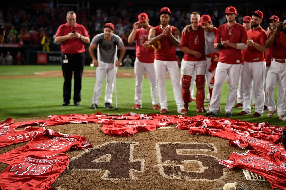 Angels Skaggs No-Hitter