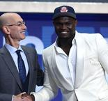 Zion Williamson overcome with emotion after being selected number one overall