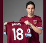 Nasri Joins West Ham For Remainder Of The Season