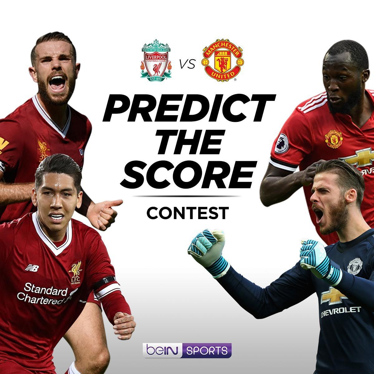 Predict the score contest (LIV vs MUFC)