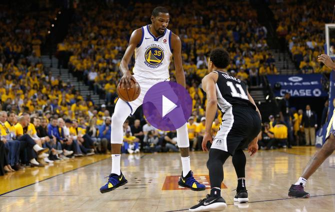 NBA - Playoffs : Les Warriors ont marché sur San Antonio