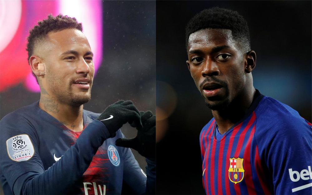 5cbb84db5 Report  Barcelona And PSG Discussing  Complicated  Neymar And Dembele Swap  Deal