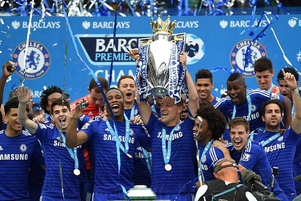 Chelsea crown their 5th title