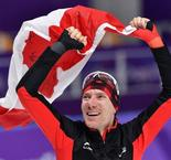 Bloemen marvellous! Canadian cuts Dutch speed skaters down to size