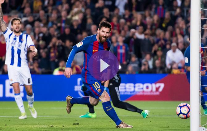 e3bd418a913 Lionel Messi Shines for Barcelona in Five-Goal Thriller Against Real  Sociedad