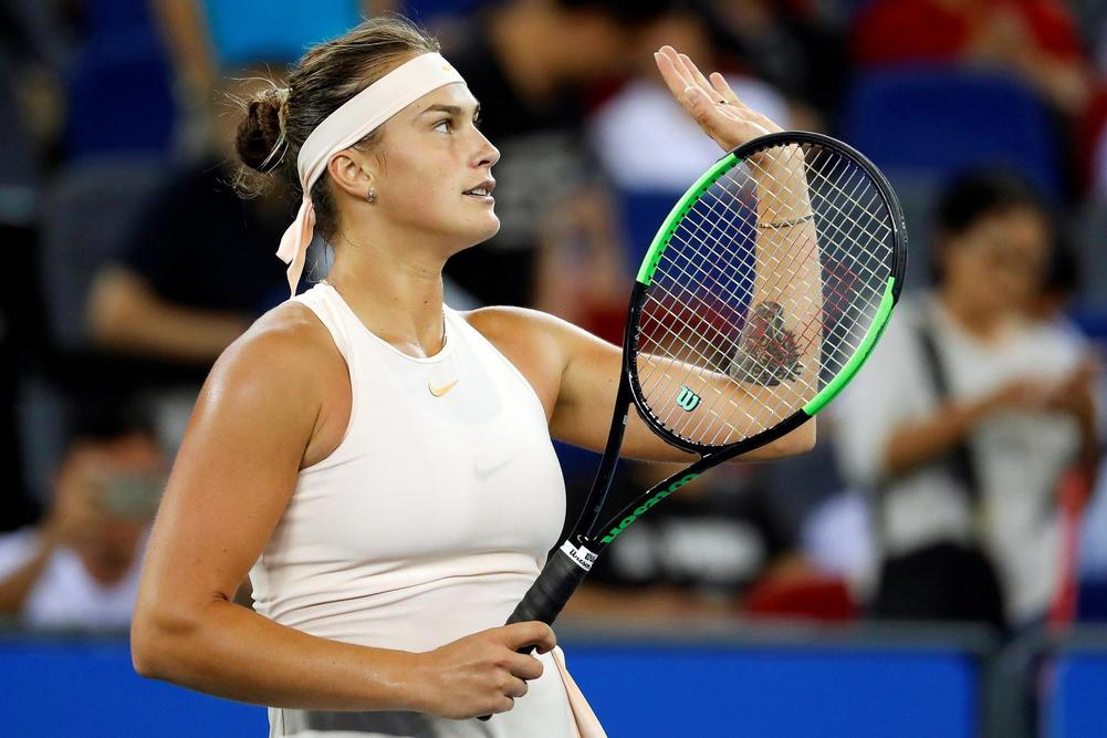 Kontaveit makes biggest final in Wuhan over ailing Wang