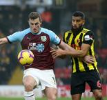 Watford 0 Burnley 0: Wood denied winner by contentious call