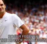 Roger Federer - The King Of Wimbledon