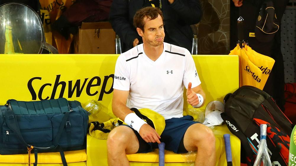 Andy Murray exits tournament, stunned by Borna Coric — ATP MADRID