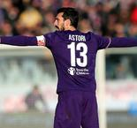 Fiorentina and Cagliari retire Astori's number 13 shirt