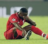 Keita taken to hospital during Liverpool defeat