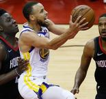 Curry & Durrant star as the Golden State Warriors beat the Houston Rockets 101-92 to progress to the NBA finals