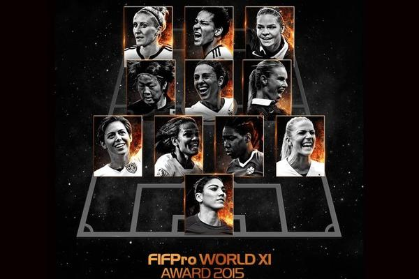 FIFPro reveals first Women's World XI