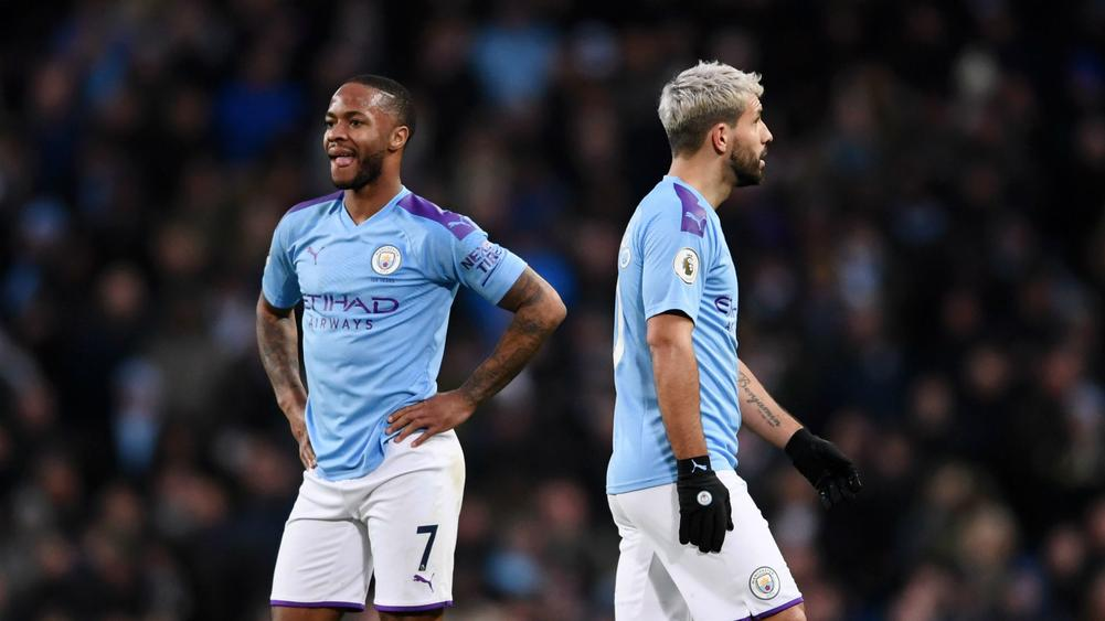 Sterling and Aguero left on the bench as Man City face Real Madrid