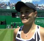 Barty loving the pressure as history beckons