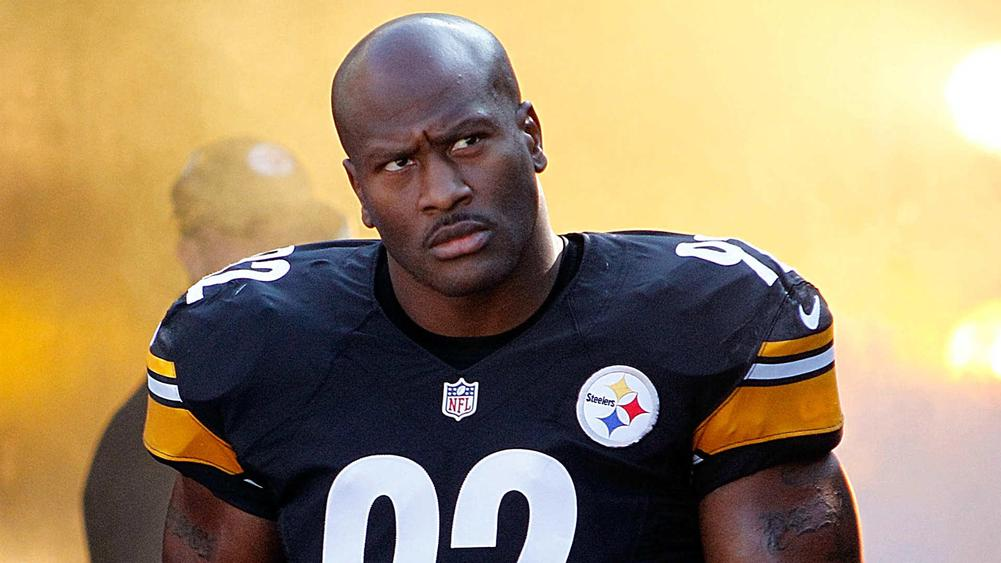 finest selection 2f408 42ebe James Harrison Defends Decision to Join Patriots