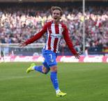Antoine Griezmann Stunner Dents Sevilla Title Hopes