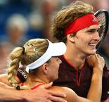 Zverev grateful to Kerber after Hopman Cup victory, Bouchard suffers buttocks injury