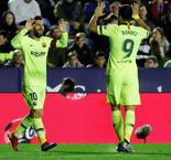 Marvelous Messi Involved In All Five As Barcelona Beat Levante, 5-0, Behind Captain's Hat-Trick