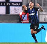 Icardi Strikes Twice To Send Inter Past Lazio, 3-0, And Into Second Place