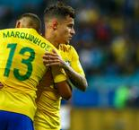 Coutinho '100 per cent fit' ahead of England clash