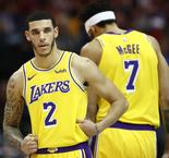 Lakers survive Ball's gaffe to beat Thunder in OT