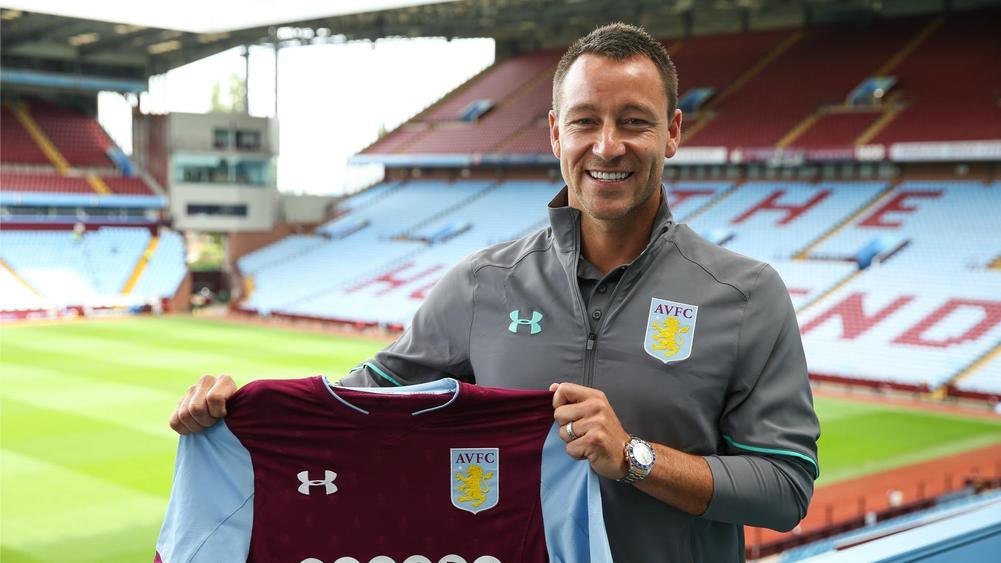 Aston Villa name John Terry as their club captain